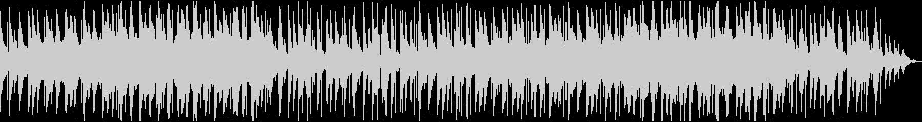 Lo-Fi エレキギター ピアノの未再生の波形