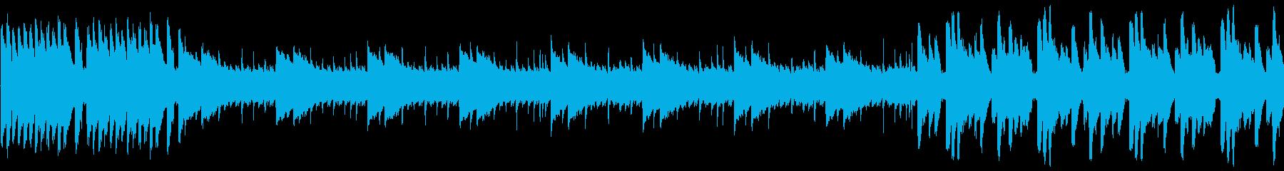 8bit ポップでコミカルな宇宙 ループの再生済みの波形