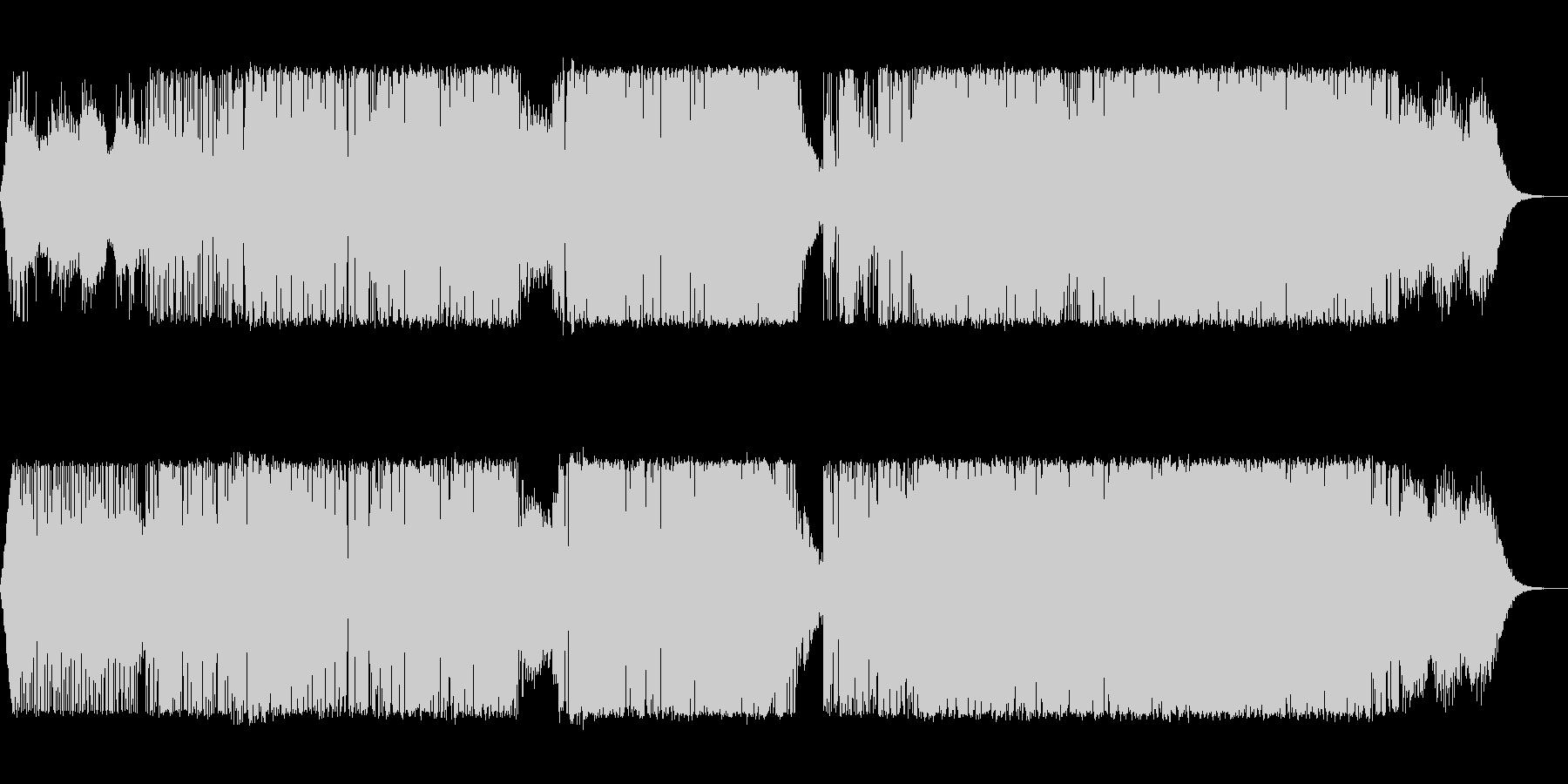 エレクトロ アクション 技術的な ...の未再生の波形