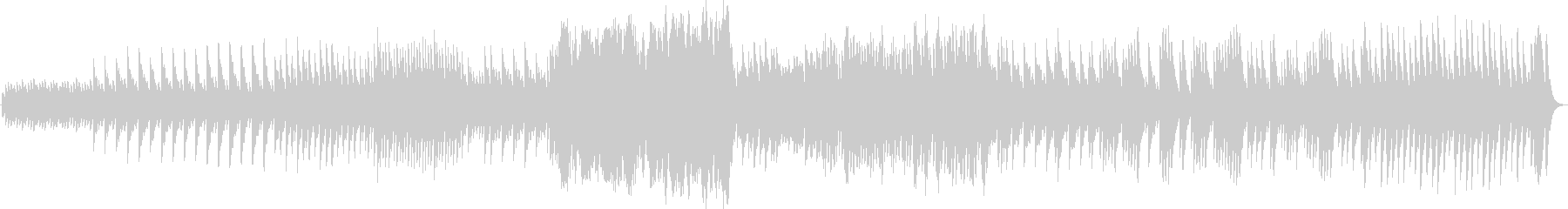 パッヘルベルのカノン(オルゴールアレンジの未再生の波形