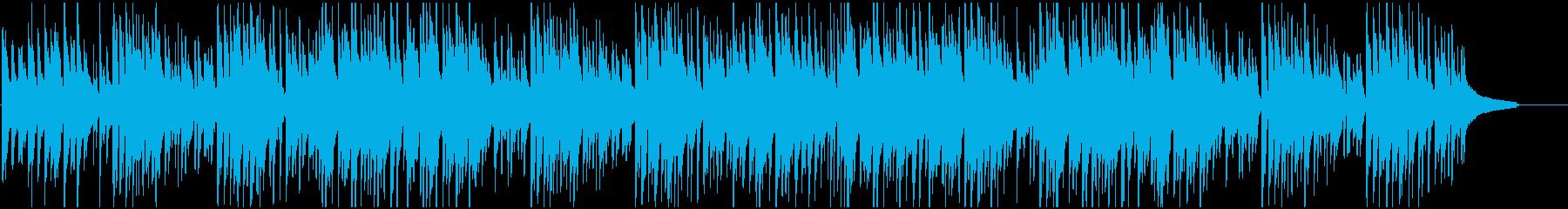 アプリや映像に ウクレレで爽やかボサノバの再生済みの波形