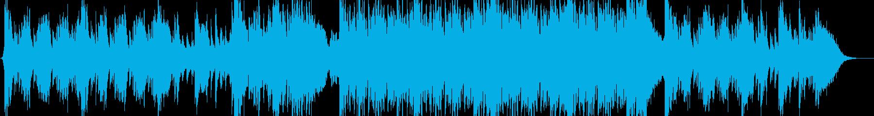 ダークな感じのシネマティックの再生済みの波形