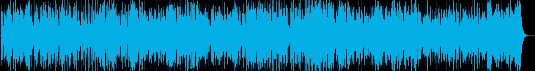 壮大なストリングスが印象的なポップスの再生済みの波形
