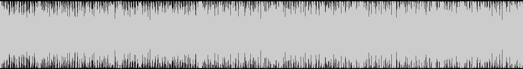 【ループ対応】疾走感のあるロックハウスの未再生の波形