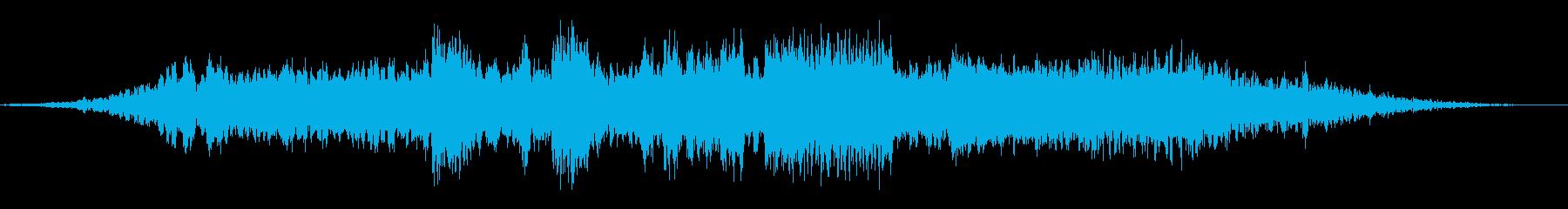 スペースファイター:武器の射撃、エ...の再生済みの波形