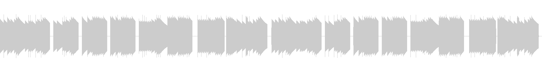 歩行者用信号機の音_とおりゃんせ_01の未再生の波形