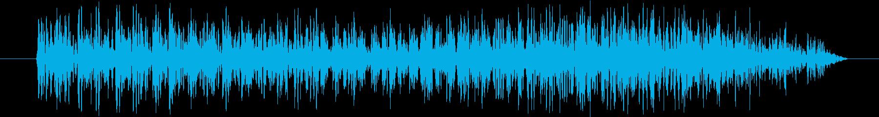 ギュオォォォォの再生済みの波形