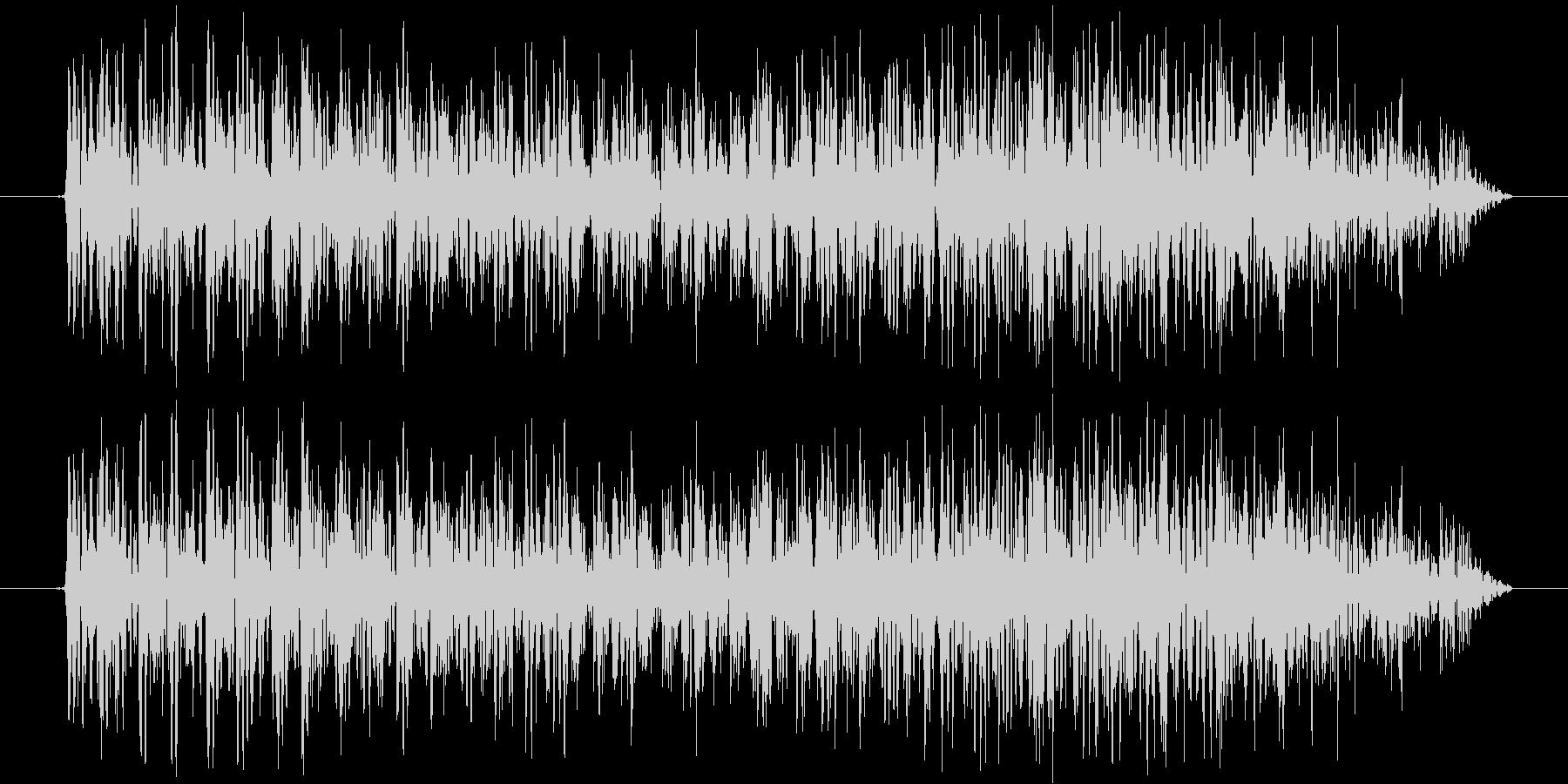 ギュオォォォォの未再生の波形