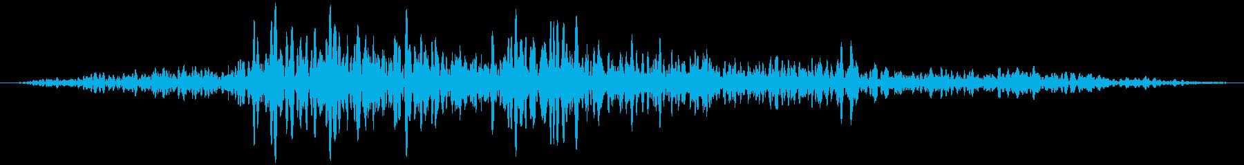 ふすま (開ける、閉める) ズスッの再生済みの波形