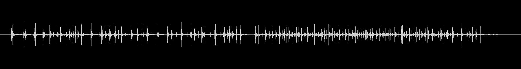 ワードローブ、オープン、長く、低いきしみの未再生の波形