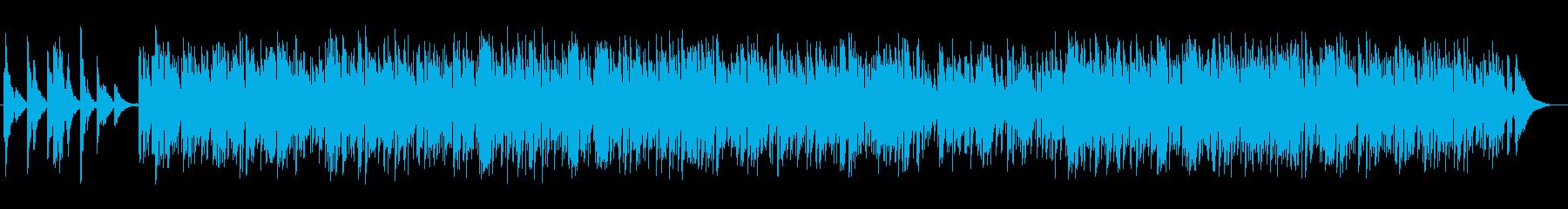 ゆったり散歩をするようなギターサウンドの再生済みの波形