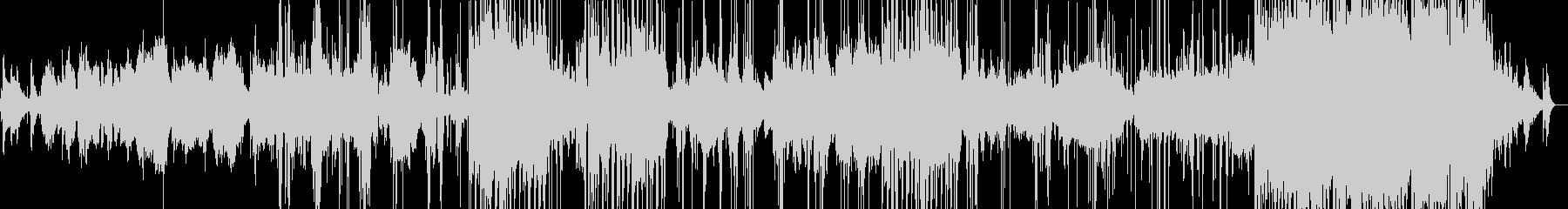 みずのほとり-水の音とカエルの鳴き声の未再生の波形