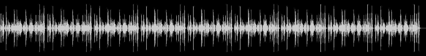 シンプルな作業用のピアノソロBGの未再生の波形