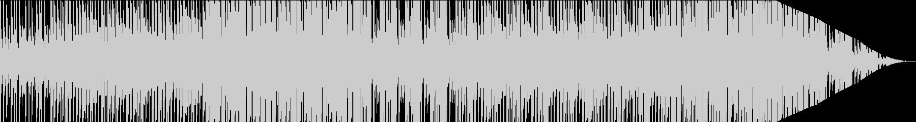 スラップとシタールのバトル的BGMの未再生の波形