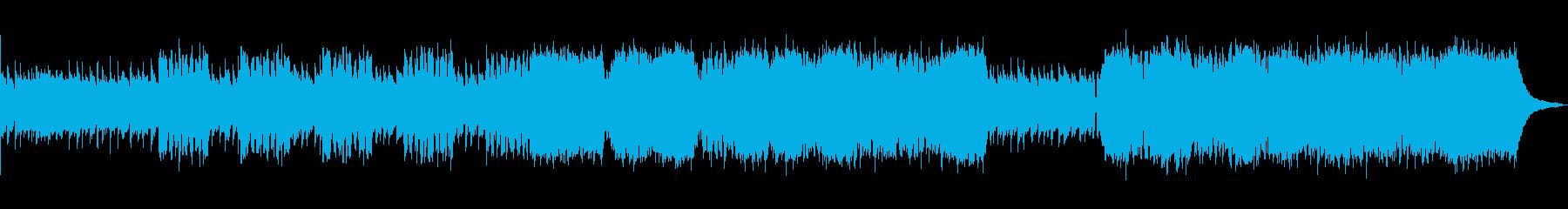 希望・疾走感・企業VP♪アコースティックの再生済みの波形
