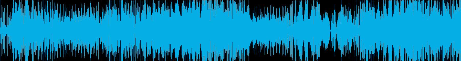 明るいポップスソング アコギ弾き語りの再生済みの波形