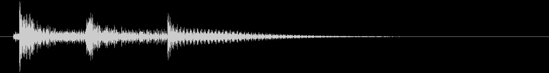 沖縄風エラー音2の未再生の波形