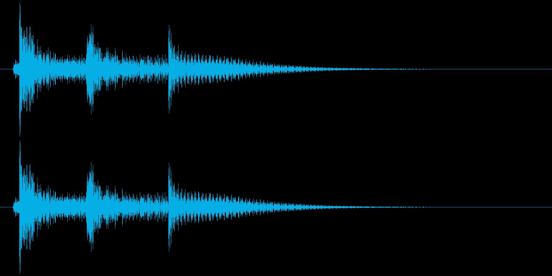 沖縄風エラー音2の再生済みの波形