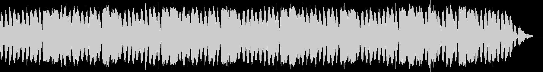 涼し気なサウンドの安らぎ音楽の未再生の波形