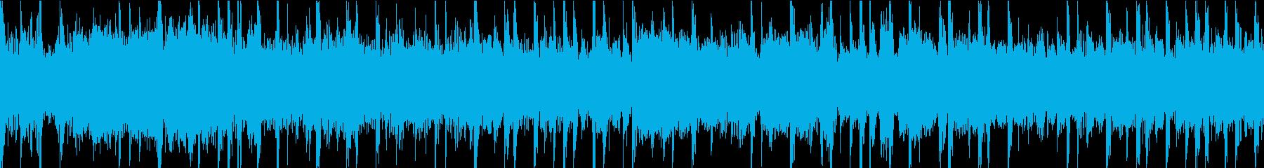 ミステリー、SFに合う不気味なBGMの再生済みの波形