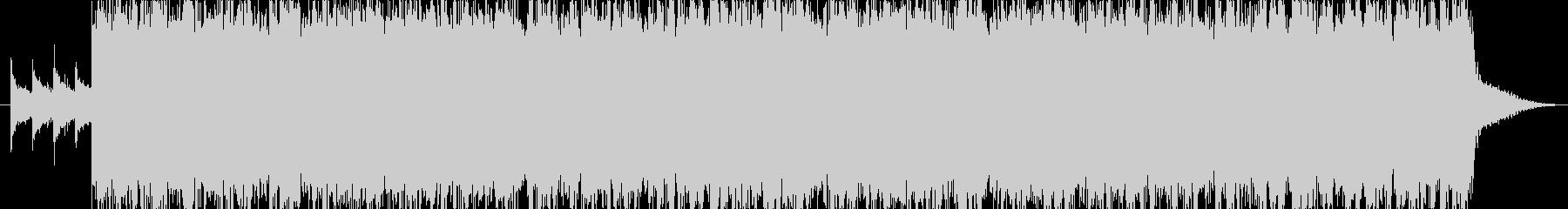 トーク用BGM(爽快でノリのいいロック)の未再生の波形