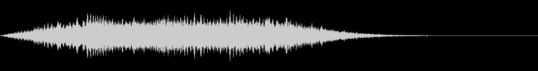 気が付いたときの音の未再生の波形