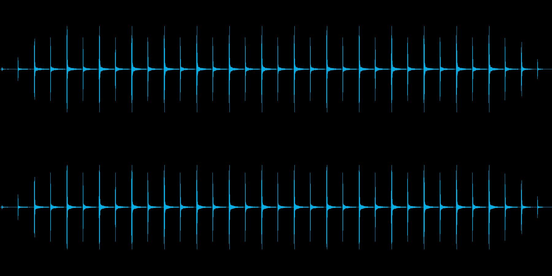 時計 ticktock_39-5_revの再生済みの波形