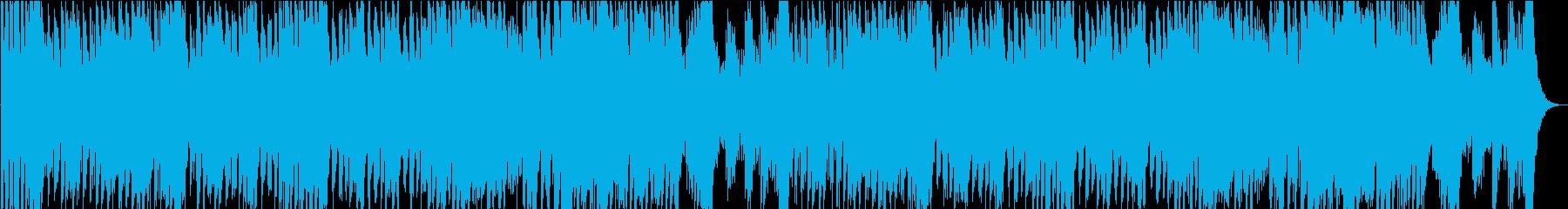 和オーケストラ_激しい演舞の再生済みの波形