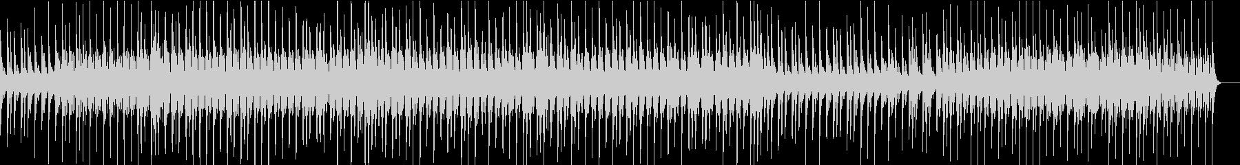 ラテン風リズムの軽やかなジャズの未再生の波形