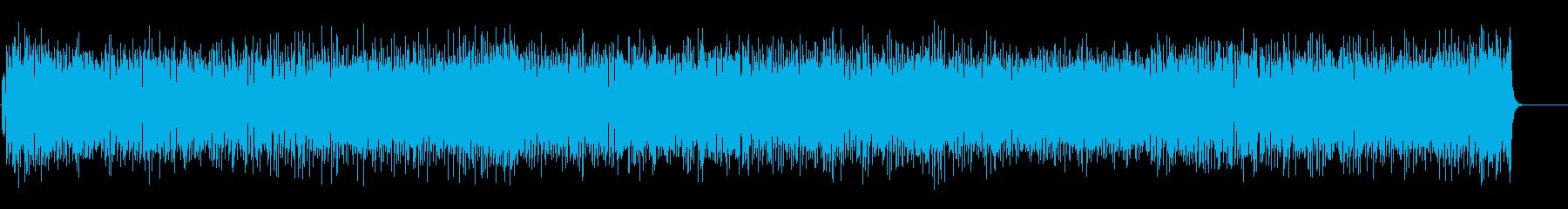 しなやかに弾むストレート・フュージョンの再生済みの波形