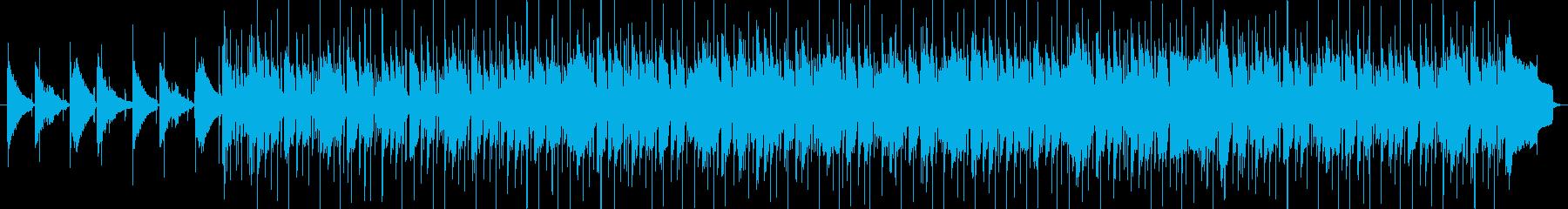 ファンク、お洒落、チルアウトの再生済みの波形