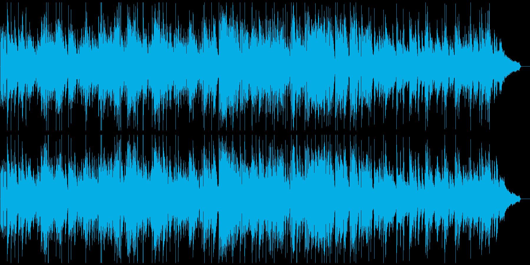 ミディアムテンポの素敵で軽快なジャズの再生済みの波形