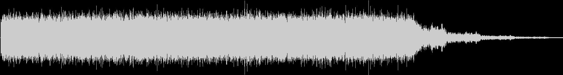 ドローン 産業01の未再生の波形