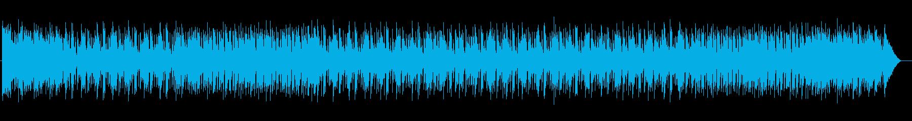 爽やかでクリスマス感の鈴シンセサウンドの再生済みの波形