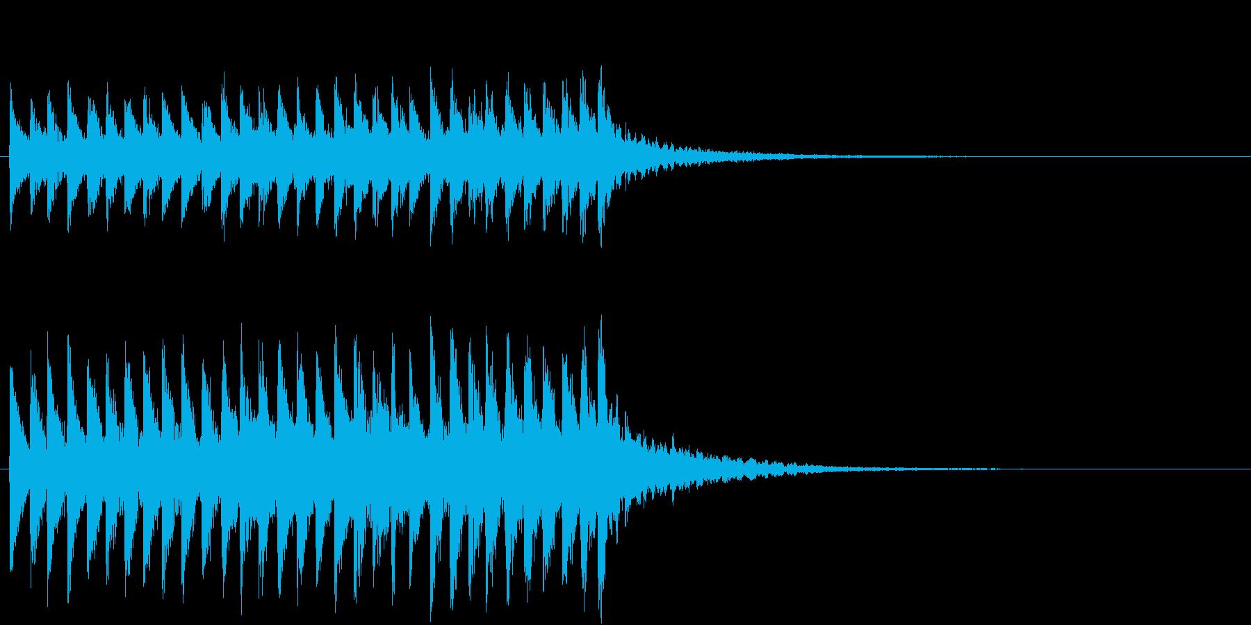 くるくる 回転 かわいいSE1の再生済みの波形