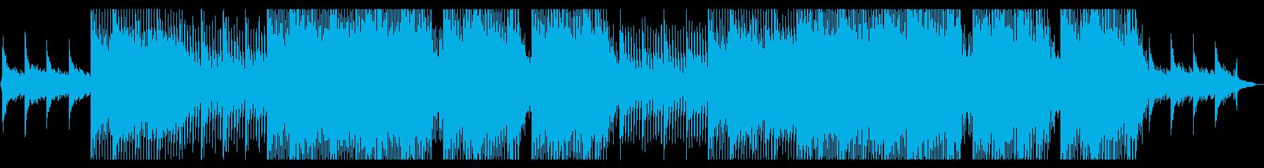 企業VP ドラマティックな切ないピアノの再生済みの波形