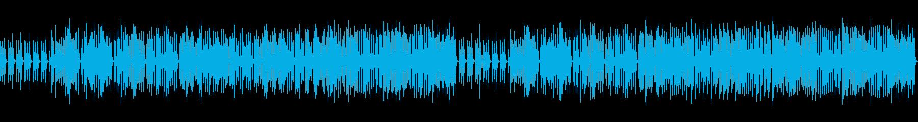 【ループ】ほのぼのリコーダー、木琴の再生済みの波形