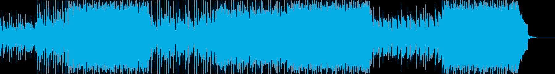 前向きで透明感のある可愛いポップな楽曲。の再生済みの波形