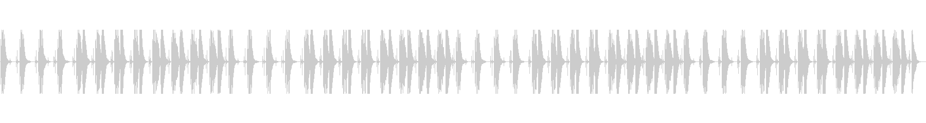 淡々とした説明や日常系に合うマリンバの未再生の波形