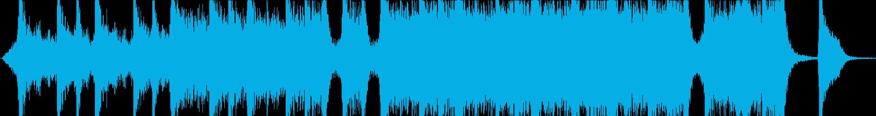 迫力あるハリウッド系オーケストトレーラーの再生済みの波形