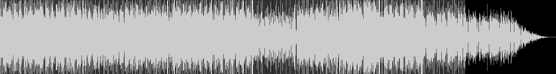 爽やかなフルートがメロディーのエレクトロの未再生の波形