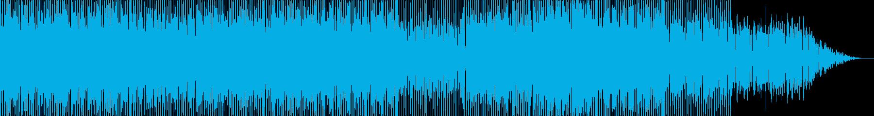 爽やかなフルートがメロディーのエレクトロの再生済みの波形