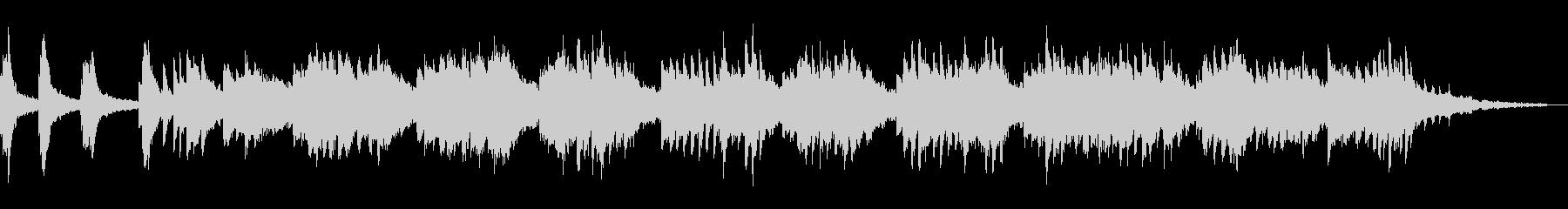 Fresh and refreshing piano jingle's unreproduced waveform