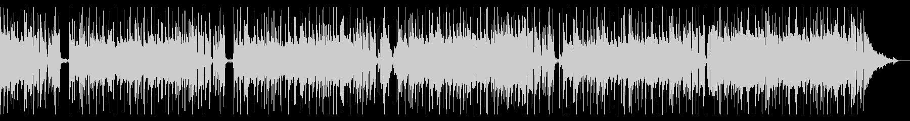 マイナー調のアーバンブルースの未再生の波形