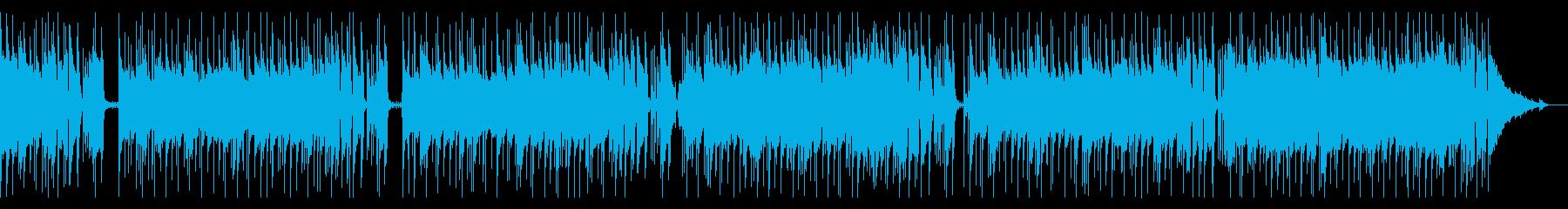 マイナー調のアーバンブルースの再生済みの波形