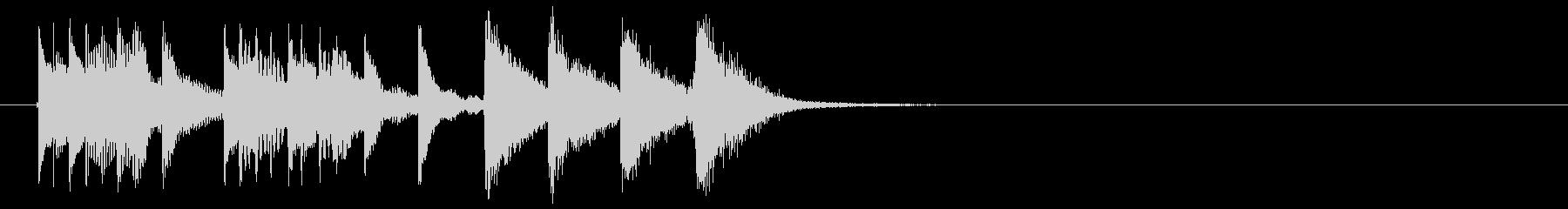 Marimba's simple jingle's unreproduced waveform