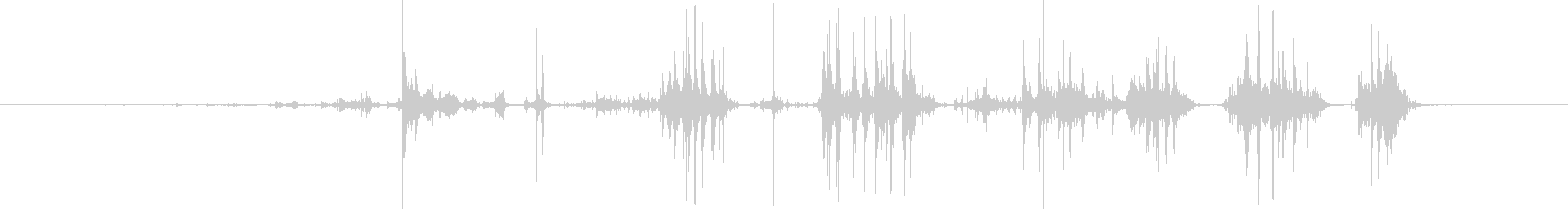 【ゲームアプリ】物音_05 箱を破るの未再生の波形
