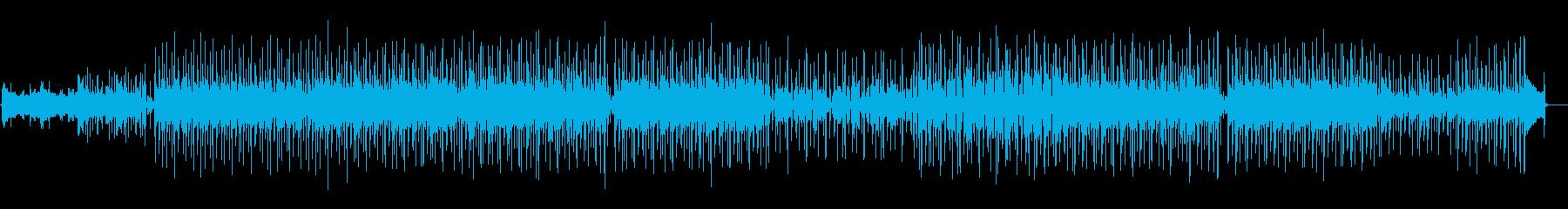 都会的でおしゃれなBGMの再生済みの波形