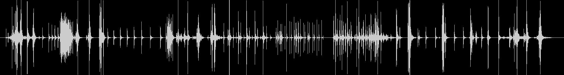 【機械】 動作 09 タイプの未再生の波形
