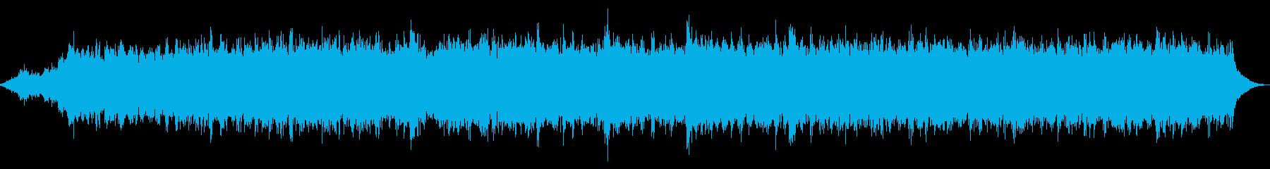 オカルトテイストのホラーアンビエントの再生済みの波形
